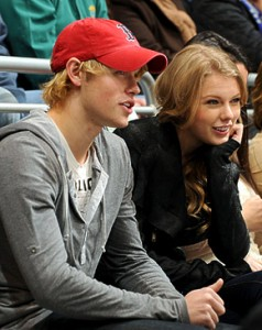 Taylor Swift  Chord Overstreet on Taylor Swift And Chord Overstreet