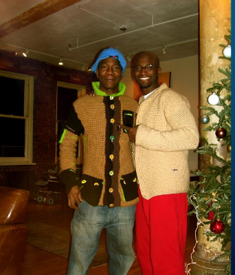 Raphael Kroshay and Brother Taye Diggs