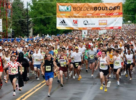 BolderBoulder Runners