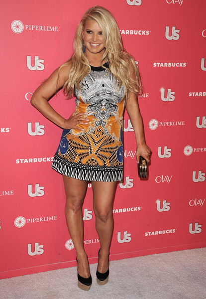 Jessica Simpson at Us Weekly Hot Hollywood Party