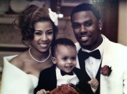 Keyshia Cole Wedding Picture