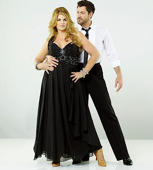 Kirstie Alley Dancing with the Stars Before and After