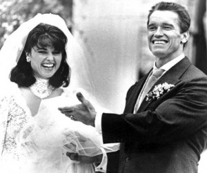Maria Shriver and Arnold Schwarzenegger Wedding Day