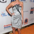 Nicky Hilton attended the 18th annual Race to Erase MS event wearing a silver and grey dress by Giorgio Armani. Nicky and Paris lost their grandmother to Multiple Sclerosis, so...