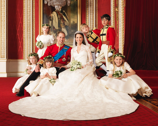 Royal Wedding Bridesmaids and Pageboys