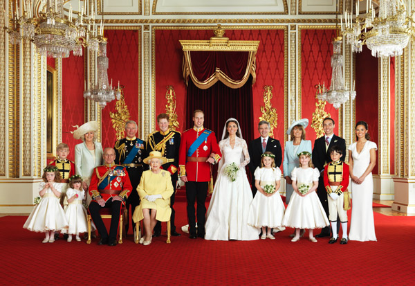 Royals and Middleton Family Photo