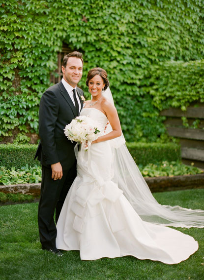 Tamera Mowry Wedding Gown