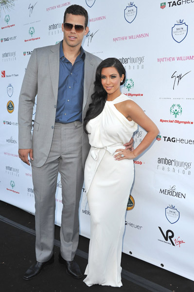 Kim Kardashians Wedding Date Wedding Dress and Engagement Ring