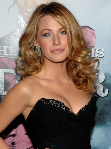 blake lively wavy hair - photo #4