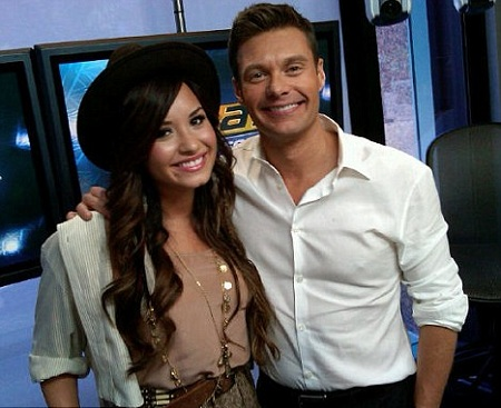 Demi Lovato and Ryan Seacrest Interview