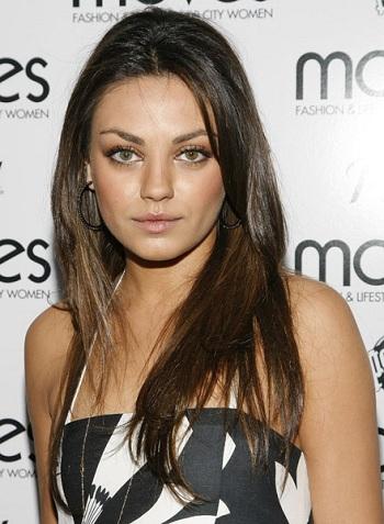 Mila Kunis Hairstyle