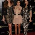 Keeping up with the Kardashian sisters is quite a task. Kardashian Kollection for Sears Wednesday night Kim, Kourtney and Khloe Kardashian attended the launch party for their new Kardashian Kollection...