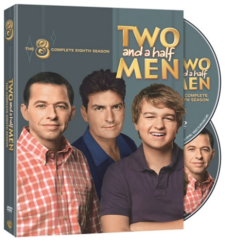 Two and a Half Men Season 8 DVD