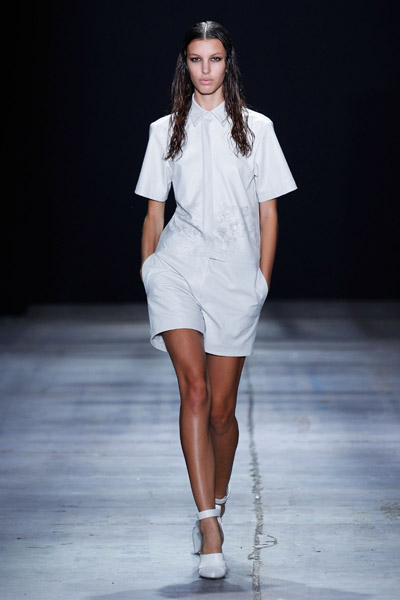 2012 Spring Fashions on Alexander Wang Spring 2012 Fashion Show