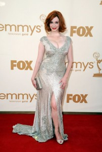 Christina Hendricks on the Red Carpet Primetime Emmy Awards