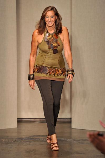 Donna Karen on NYFW Runway