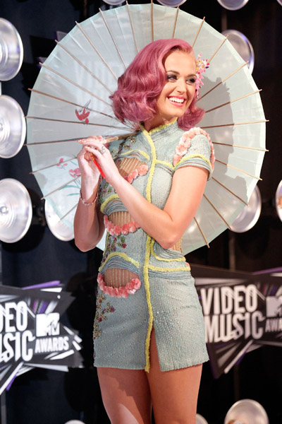 Katy Perry Dress at 2011 Video Music Awards