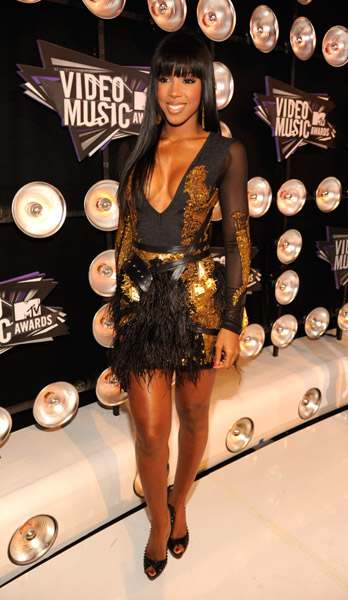 Kelly Rowland at Video Music Awards
