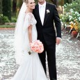In a wedding full of close friends and family Molly Sims ties the knot with fiance Scott Stuber. The pair were married in the scenic Napa Valley at the Frank...