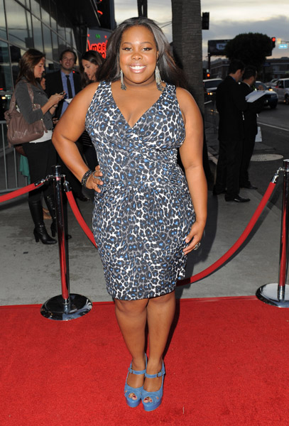 Amber Riley at American Horror Story LA Premiere