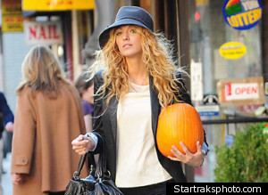 Blake Lively Pumpkin