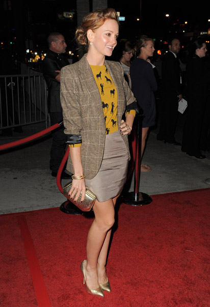 Jayma Mays at American Horror Story LA Premiere