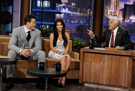Kim Kardashian and Kris Humphries on Jay Leno