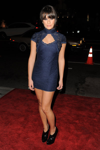 Lea Michele at American Horror Story LA Premiere