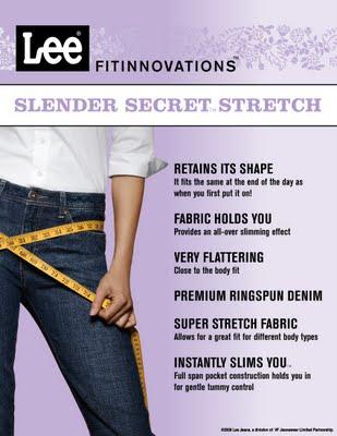Slender Secret Skinny Jeans