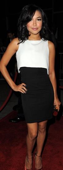Naya Rivera at American Horror Story LA Premiere