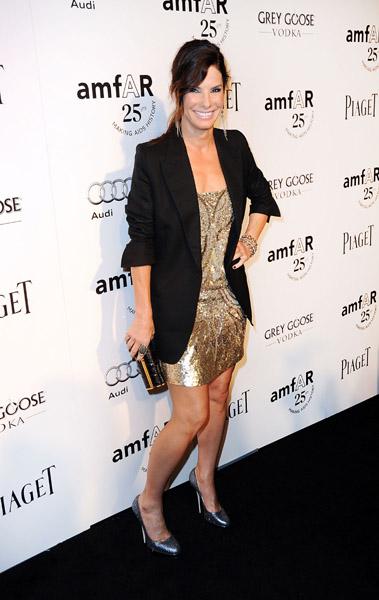Sandra Bullock on the Carpet