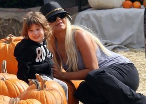 christina aguilera and son Halloween