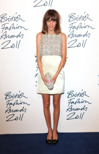 Alexa Chung at British Fashion Awards
