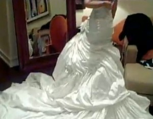 Beyonce Wedding Dress