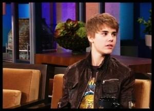 Justin Bieber on Jay Leno
