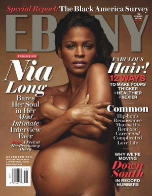Nia Long Ebony Cover