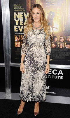 Sarah Jessica Parker at New Years Eve Premiere
