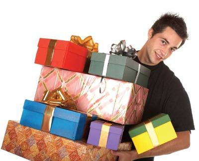 christmas shopping men