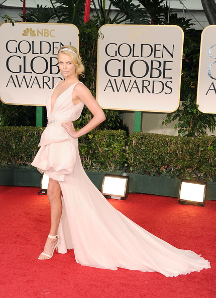 Charlize Theron at Golden Globe Award