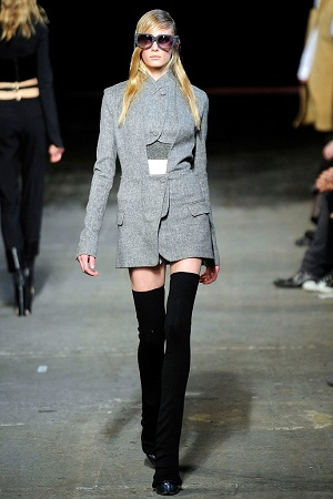 Thigh High Socks Runway