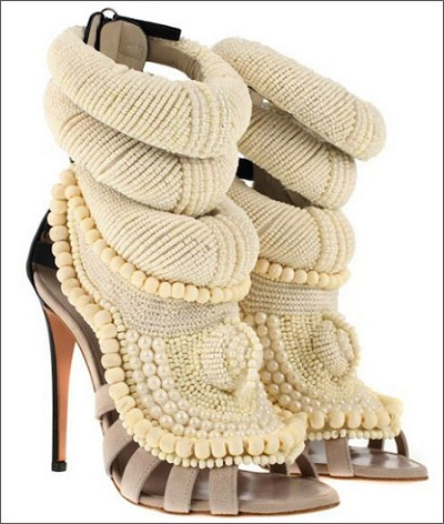 Giuseppe Zanotti Pearl Sandals