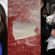 Let's just say Kim Kardashian didn't show up covered in flour to her new perfume debut. The reality star was doing a press at the London Hotel in Hollywood when...