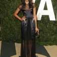 Hollywood's designer dresses straight from the Pre-Fall Fashion Shows! Zoe Saldana attended the Vanity Fair Oscar Party in a Marios Schwab Fall 2012 gown. The black sheer dress was just...