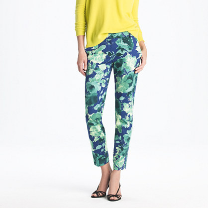 J CREW Printed Pants