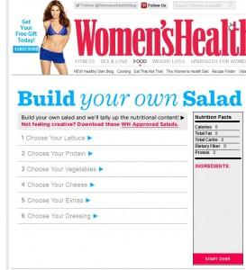 Build a Salad App