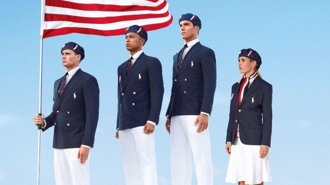 Ralph Lauren Olympics Uniforms