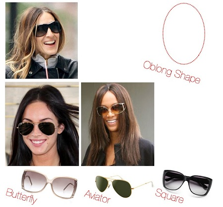 Sunglasses for Oblong Faces
