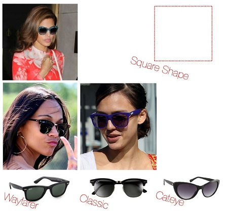 Sunglasses for Square Faces