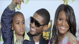 Usher Tameka Foster and Kyle