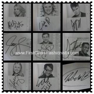 american idol autographed pics